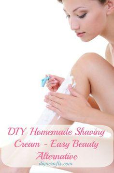 Easy Beauty Alternative – DIY Homemade Shaving Cream