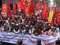 Left Front Rally :Demanding CBI interrogation of West Bengal Chief Minister