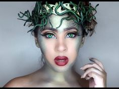 Medusa Halloween Tutorial - YouTube