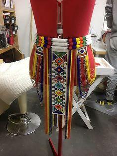 African Wedding Attire, African Attire, African Dress, African Clothes, African Fashion Dresses, Zulu Wedding, African Print Dress Designs, Traditional African Clothing, African Crafts