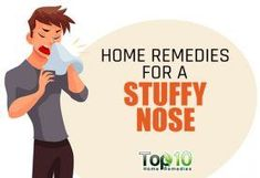Home Remedies for a Stuffy Nose