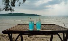 Koh Thmei beach, Ream national Park, Cambodia