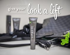 Lip & Eye lessens the look of fine lines, wrinkles, bags and puffiness by creating a tensor effect. It smooths the skin and provides a lifting look. Because bags should go over your shoulders...not under your eyes!!