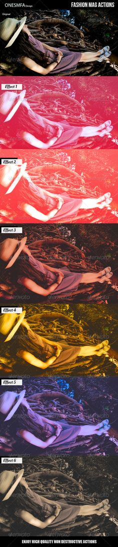 Fashion Mag Actions
