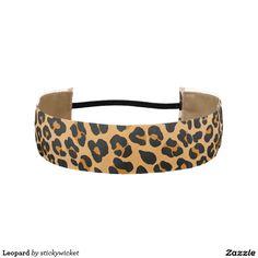 Leopard Athletic Headbands