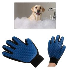 Now Available #fashion #shopping: True Touch Deshed... Check it out here! http://giftery-shop.com/products/true-touch-deshedding-brush-glove-pet-dog-cat-gentle-efficient-massage-grooming?utm_campaign=social_autopilot&utm_source=pin&utm_medium=pin