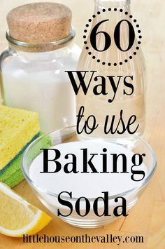 60 ways to use baking soda in your home