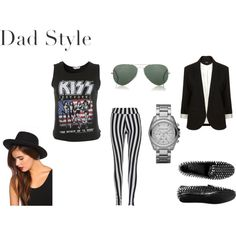 Dad Style: Rock 'N Roll, created by fashionstachristy on Polyvore