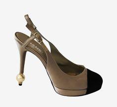 Chanel Boutique Pearl Sandal