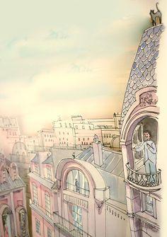 Imaginary Cities on Behance