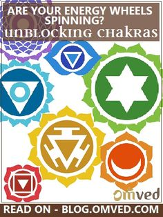 UNBLOCK YOUR CHAKRAS - Are your energy wheels spinning? Our chakras are whirlpools of energy, spinning at various locations in our bodies and acting as meeting points for our energy channels. When one or more of these chakras are blocked, they manifest as physical illnesses or mental disturbances. Learn how to unblock your chakras - one by one.