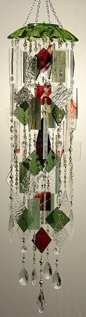 special*k*chimes ... green, maroon and crystal chimes