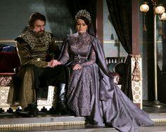 Sultan Murad, Kosem Sultan, Theatre Costumes, Cool Costumes, Murad Iv, Dramatic Hair, Turkish Beauty, The Empress, Ottoman Empire