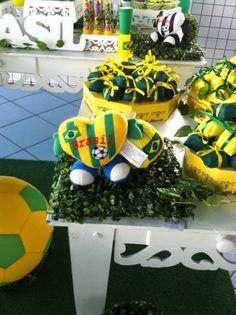Lu Medina Cupcakes e Delícias: FESTA COPA DO MUNDO 2014 World Cup Party