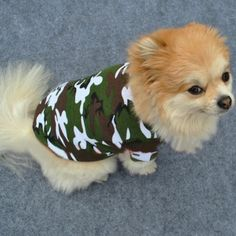 Doggie camouflage Pet T-Shirt