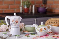 Přijít ráno do hezké kuchyně, je víc jak příjemné. Prostřít k romantické snídani vám pomůžou produkty z kolekce Floris.