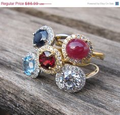 #birthdaygifts #birthstonerings #giftideas #belesas #rings #jewelry