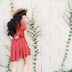 Sunny days and pretty dresses. ✨❤️ @urbanoutfitters #uoonyou #uoroadtrip @liketoknow.it www.liketk.it/1keDu #liketkit