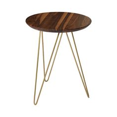 Get in touch with the nature lover within and bring a bold statement into a contemporary casual space. The Graham Hill Accent Table plays up the best of earth-centered materials and chic metal. Its bas...  Find the Graham Hill Accent Table in Walnut, as seen in the Clean, Classic Mid-Century Collection at http://dotandbo.com/collections/clean-classic-mid-century?utm_source=pinterest&utm_medium=organic&db_sku=119650