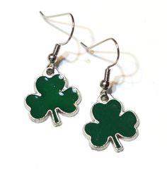 Clover  Green Four Leaf Clover  Luck of the by SW8HolidayGalore, $5.00