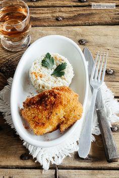 Receta: Pescado empanizado con paprika. Proteica http://paraadelgazar.ws/receta-pescado-empanizado-con-paprika-proteica/ Salud y Bienestar