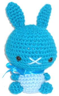 How to make Amigurumi - Kawaii Bunny - DIY Craft Project with instructions from Craftbits.com