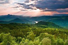 The České středohoří, Central Bohemian Uplands, Czech Republic. European Countries, Mountain Range, Czech Republic, Bohemian, Mountains, Travel, Pictures, Viajes, Destinations