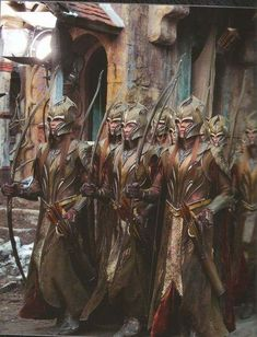 Silvan Archers of the Army of the Woodland Realm