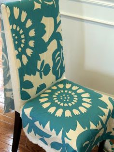 LoveYourRoom: My Morning Slip Cover Chair Project Using Remnant Fabric (no  Sewing Needed!