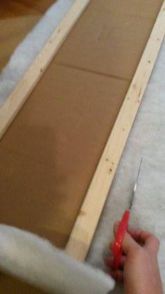 Picture of Batting Window Cornice Diy, Window Cornices, Window Coverings, Window Treatments, Box Valance, Cornice Box, Valances, Home Deco Furniture, Modern Furniture