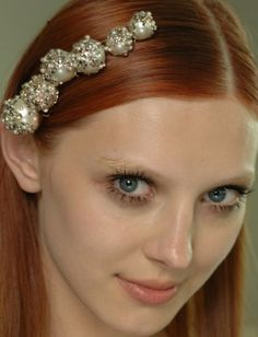 60 Summer Hair Ideas From Our Favorite Models : Lucky Magazine Natural Redhead, Beautiful Redhead, Bridal Headdress, Fiery Red, Mermaid Hair, Summer Hairstyles, Diy Beauty, Red Hair, Redheads