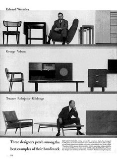 LIFE - New Furniture - 1948 (3 of 4) by MidCentArc, via Flickr