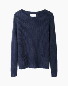 Au Courant chooses key looks from La Garconne and their set of basics for understated women, Moderne No. Love Fashion, Womens Fashion, Fashion Essentials, Cute Sweaters, Striped Tee, Well Dressed, My Wardrobe, Spring Summer Fashion, Knitwear