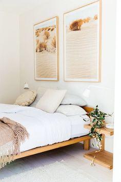 inside alex bennett's australian reno. inside alex bennett's australian reno. Relaxing Bedroom Colors, Wall Decor Design, Home Bedroom, Modern Bedroom, Wall Art Bedroom, Spa Bedroom, Neutral Bedroom Decor, Natural Bedroom, Light Bedroom