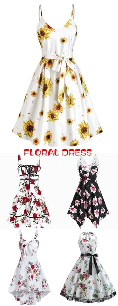 Shop woman floral dress, cute summer dress for women, casual dress for home staying or work, floral printed dress ideas Cheap Dresses, Cute Dresses, Sundresses Women, Tie Dye Dress, Cute Casual Outfits, Summer Dresses For Women, Mode Style, Party Fashion, Beautiful Outfits
