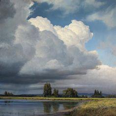 """Renato Muccillo's  """"Approaching Storm"""" - study"""