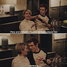 Audrey and Rory American Horror Story Quotes, Evan Peters, Roanoke Nightmare, The Almighty Johnsons, Tate And Violet, Tv Show Quotes, True Feelings, Ahs, Movies