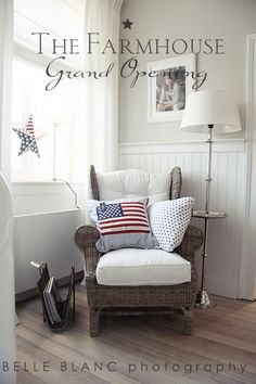 The Chair With Pillows #USA, #americanflag, #pinsland, https://apps.facebook.com/yangutu