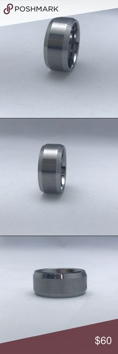 Tungsten Carbide Band Tungsten Carbide Band, available in two different widths, this listing is for the 10mm width, which is the thicker one Accessories Jewelry