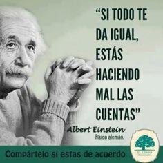 Imagen Con Frase De Albert Einstein