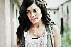 // Blouse // This blouse and sleeveless cardigan (? is that what's called?) is something I would definitly wear. Kari Jobe again.