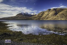 what you cant surmise from the photograph is how cold it is :-)  Torridon Scotland