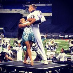 This is the luckiest guard girl in all of Phantom Regiment.