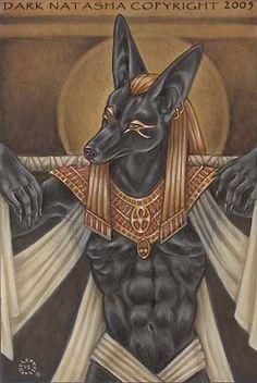 Egyptian God Anubis by Dark Natasha