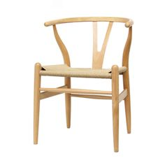 @Overstock.com - Wood Chair with Hemp Seat. Give your kitchen table a new look with this beech wood tan dining room chair. The modern chair features a solid wood frame in a natural finish, a comfortably curved backrest, and a sturdy hemp seat, which will give any room a natural look.http://www.overstock.com/Home-Garden/Wood-Chair-with-Hemp-Seat/4429645/product.html?CID=219409 $151.27 #ofanfavorites