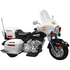 Kid Motorz Police Motorcycle Battery Powered Riding Toy - 0958