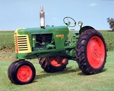 This is an ultimate poster to decorate your personal space. This amazing poster depicts the image of a green vintage farm tractor picture is sure to grab lot of attention. Your guests will definitely compliment you for your excellent taste. Hurry up and buy this charming wall poster for its wonderful paper quality with perfect color accuracy.