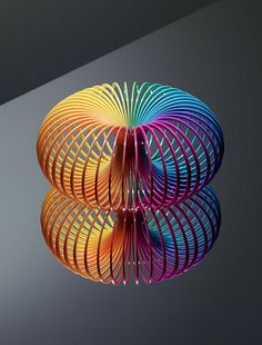 Slinky Study byThomas Brown.