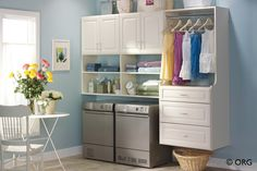 Laundry Organizers & Organization Systems | Closets & More - Middle Tennessee, including Nashville, Brentwood, Franklin, Murfreesboro,Springhill, Mt. Juliet, Lebanon , Hermitage and Clarksville