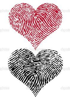 would be a cute idea to do with baby girl's fingerprint in the heart shape for a lil tat :) on my ribs or something